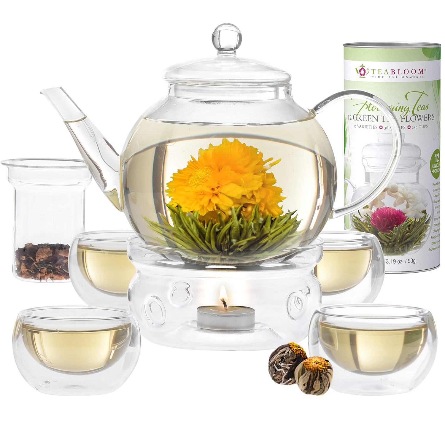 Blooming Tea Set